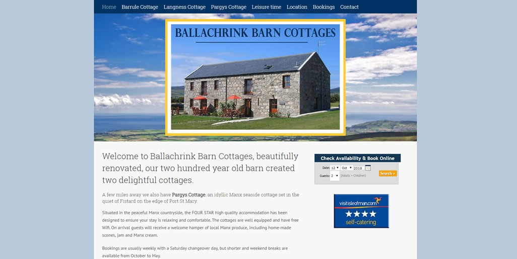 Ballachrink Barn Cottages
