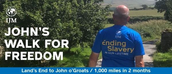 John's Walk for Freedom