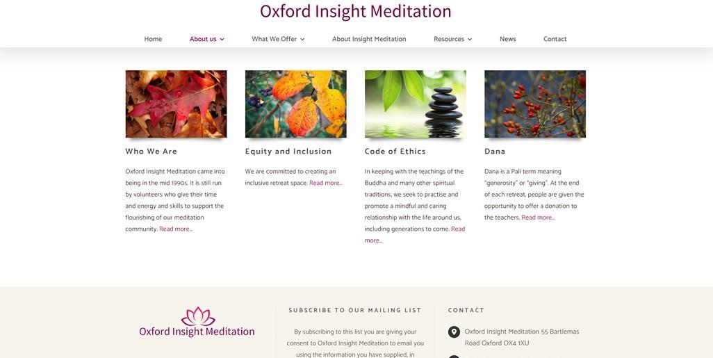 Oxford Insight Meditation