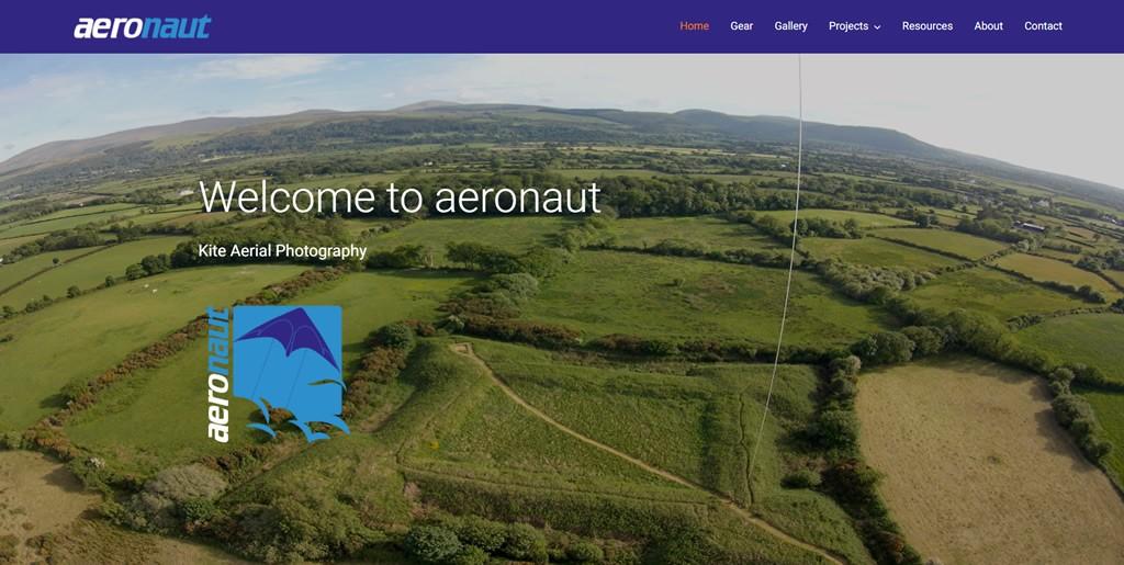 aeronaut - kite aerial photography